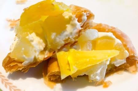 夜間飛行 パイナップルチーズパイの感想 ブログ