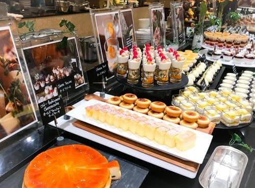 ウェスティンホテル東京 ザ・テラス チーズデザートブッフェ2019年7月ブログ
