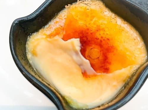 ザ・テラス カルダモン風味のクリームチーズのブリュレ レビューブログ