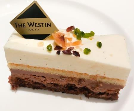 【アトリエ】バニラとチョコレートのケーキ