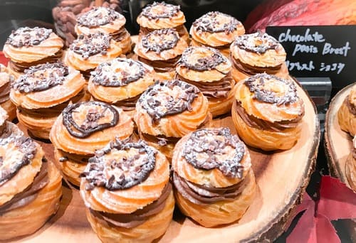 チョコレートデザートブッフェ ザ・テラス 2019年9月 パリブレストショコラ