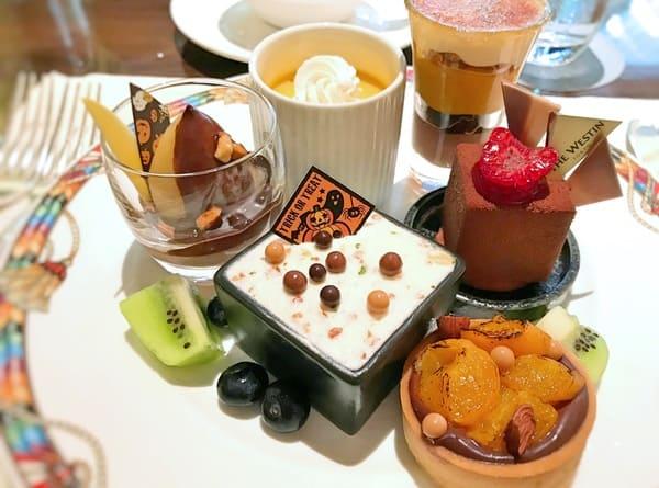 ウェスティンホテル東京 ザ・テラス チョコレートデザートブッフェ
