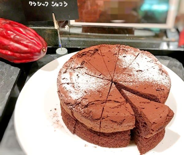 ザ・テラス2019年10月チョコレートデザートブッフェ クラシックショコラ