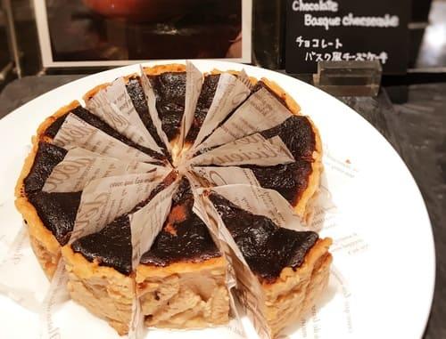 ザ・テラス チョコレートバスク風チーズケーキ