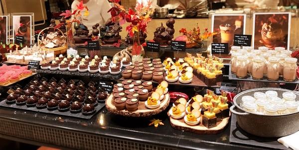 ザ・テラス チョコレートデザートブッフェ2019年11月
