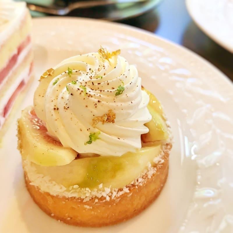 カフェミクニズ ケーキ 季節のタルト「無花果」ブログ