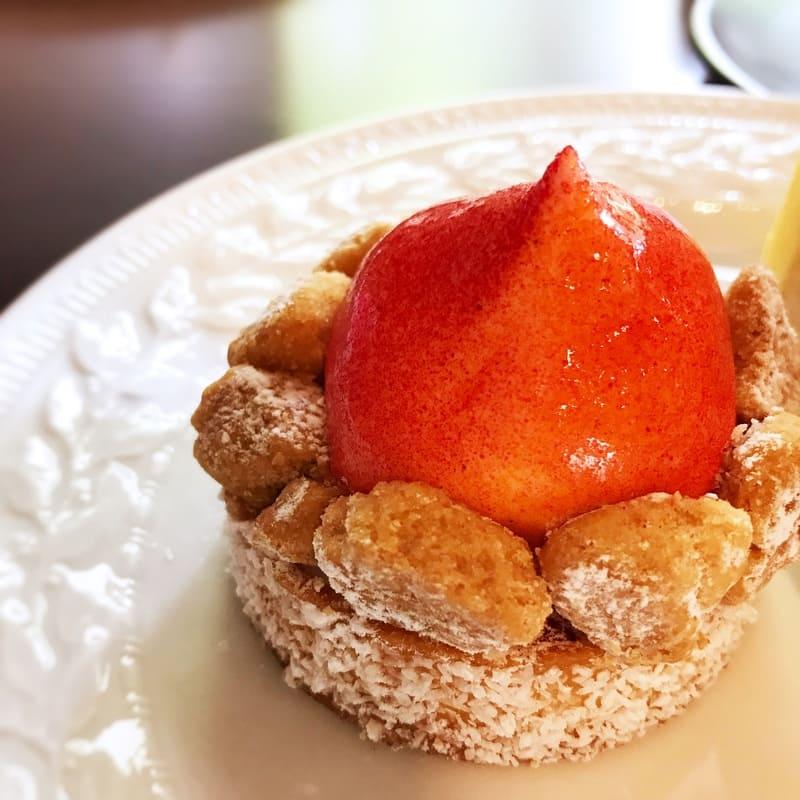 カフェミクニズのケーキ すももタルト ブログ