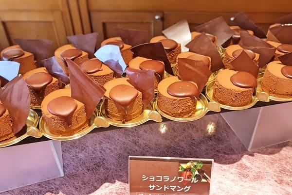 川崎日航ホテル スイーツブッフェ2019年11月 ショコラノワールサンドマング