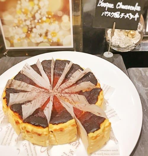 ザ・テラス バスク風チーズケーキ