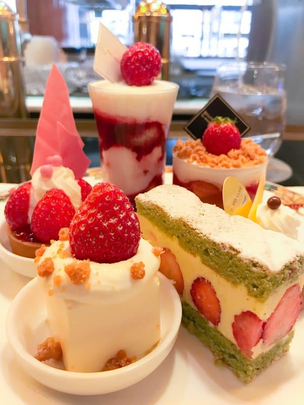 ウェスティンホテル東京苺スイーツブッフェ ブログ