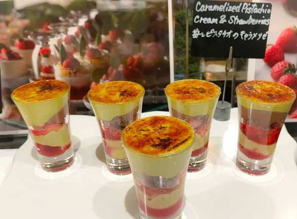 苺とピスタチオのキャラメリゼ