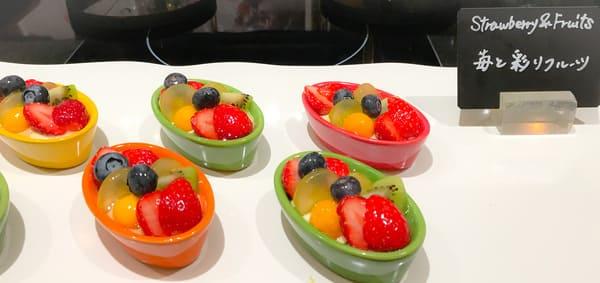 ザ・テラス 苺と彩りフルーツ