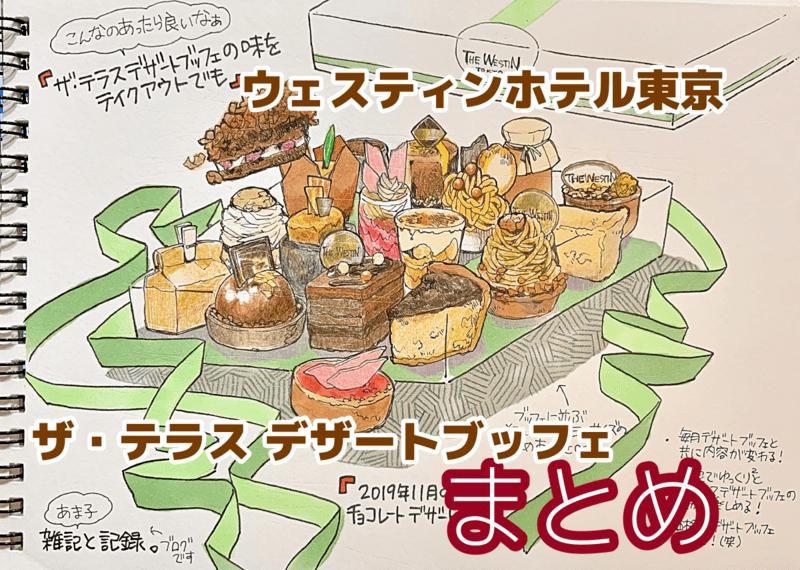 ウェスティンホテル東京チョコレートブッフェのイラスト