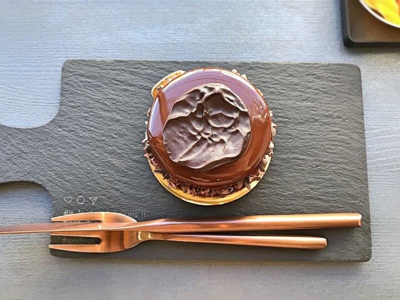 ヌメロサンクパリ チョコレートタルト