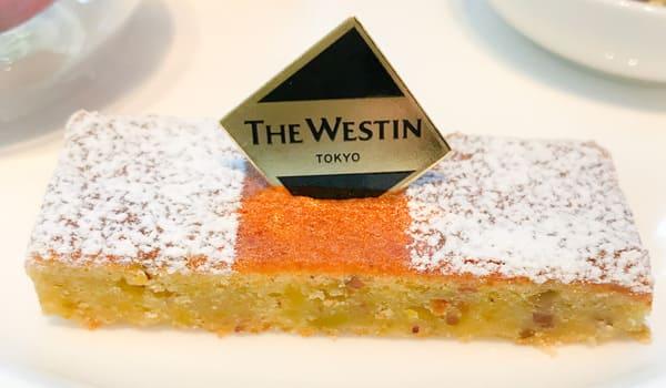 ザ・テラス2020年2月 デザートメニュー ピスタチオとリコッタチーズのケーキ