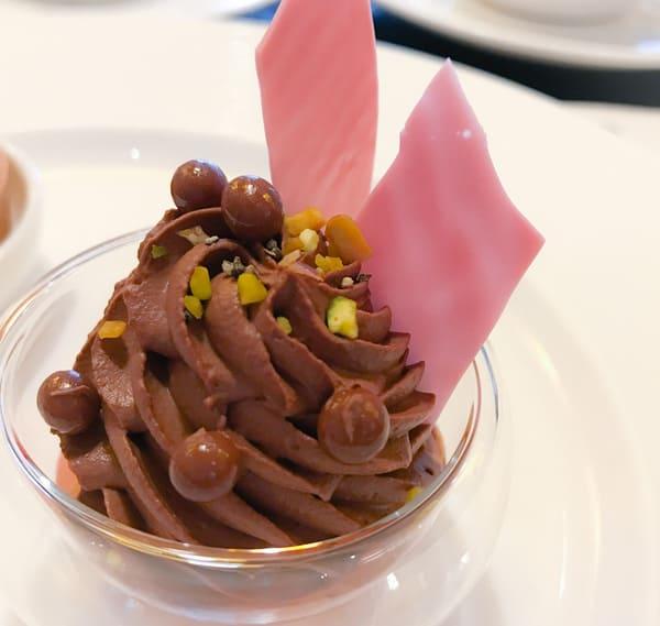 ザ・テラス 苺とパッションフルーツのチョコレートシャンティ