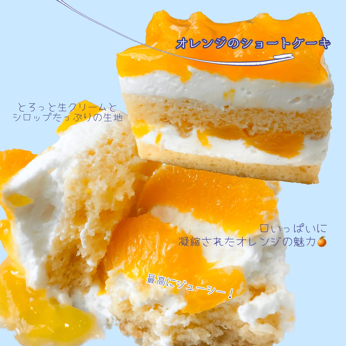 イルプルー【スペシャリテ】オレンジのショートケーキ