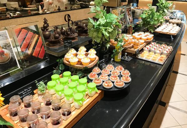 ウェスティンホテル東京ザ・テラス2020年7月チーズデザートブッフェ