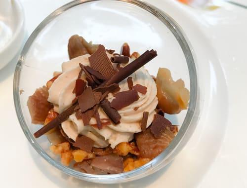 ザ・テラス チョコレートとマロンのムース