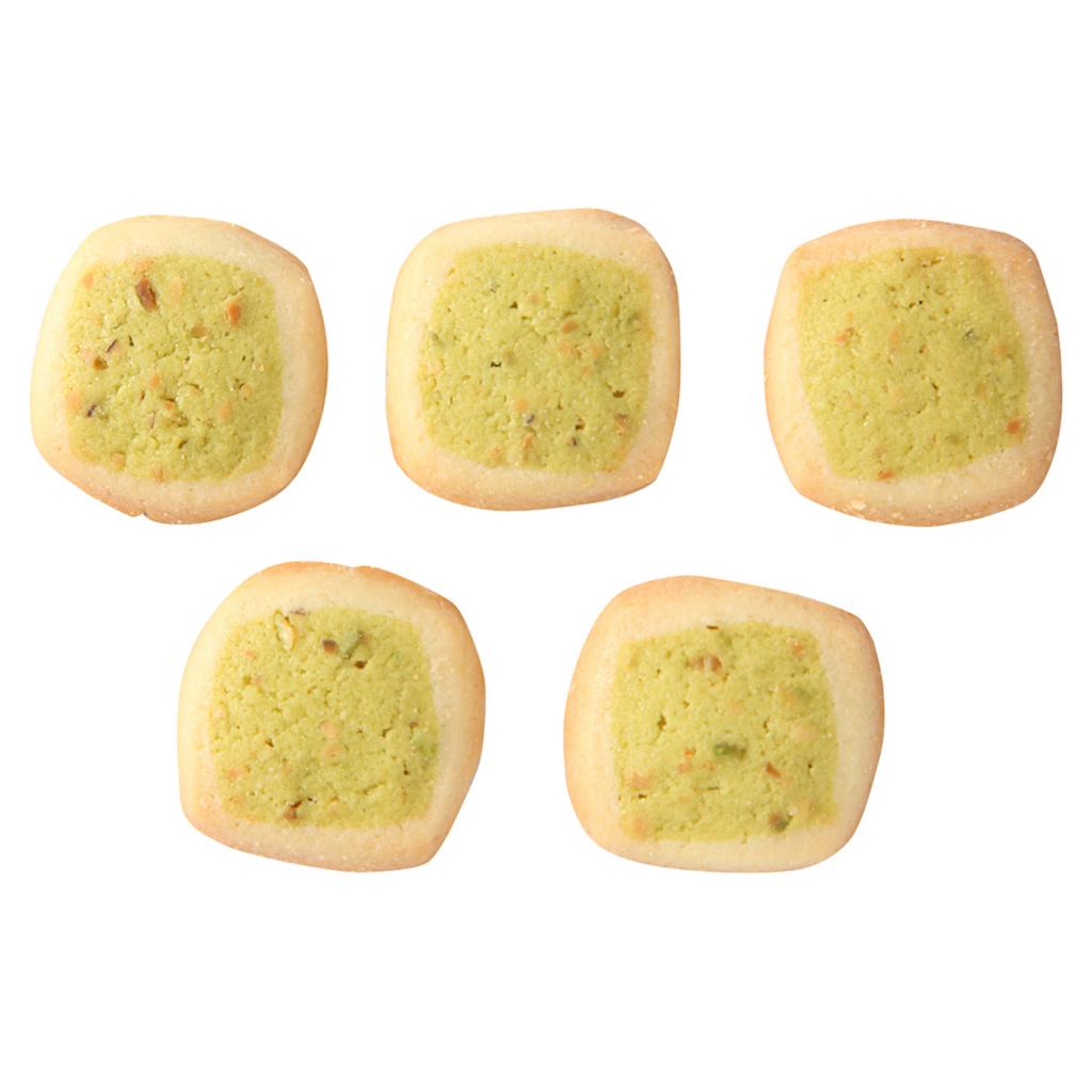 無印良品ピスタチオとバニラのクッキー
