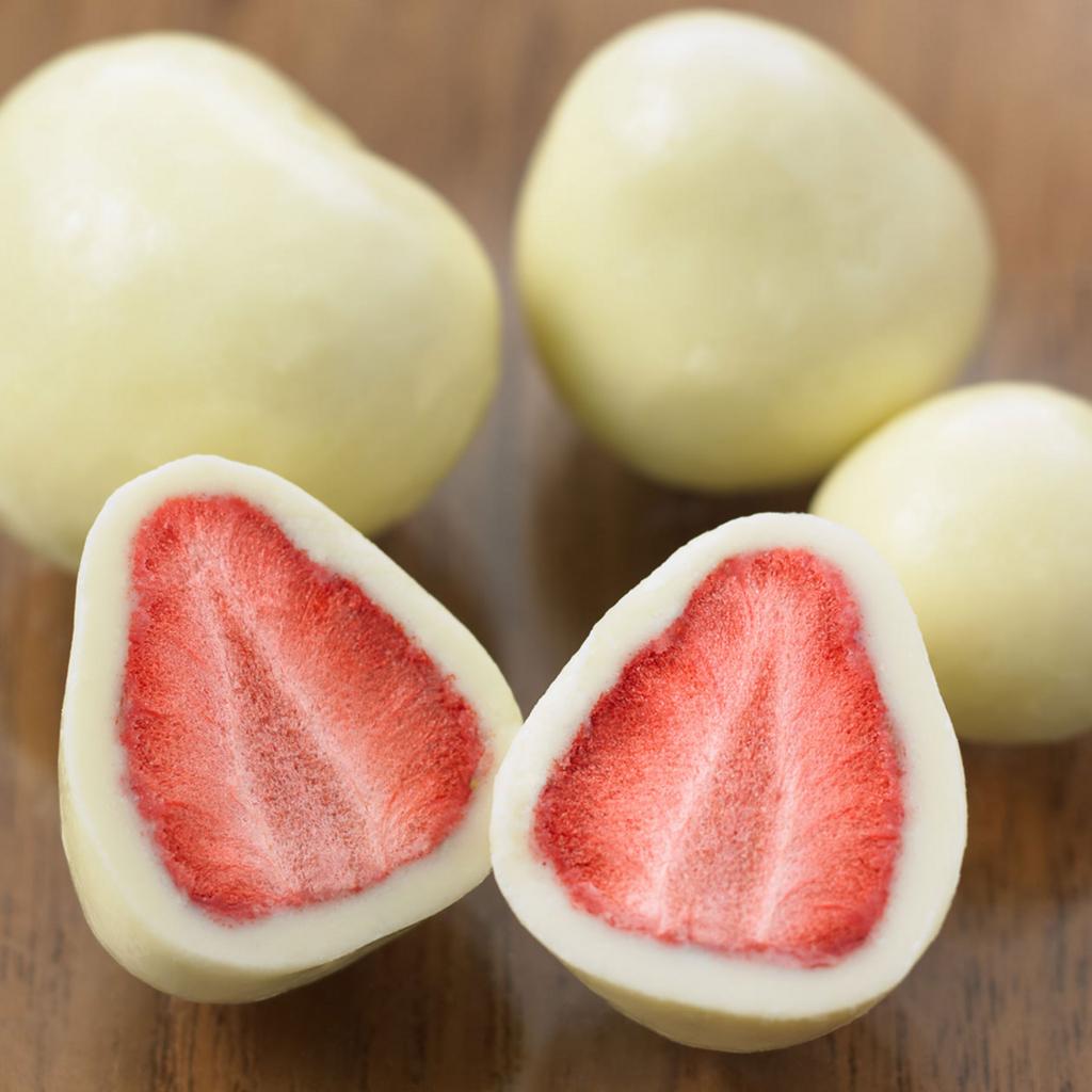 無印良品ホワイトチョコがけいちご