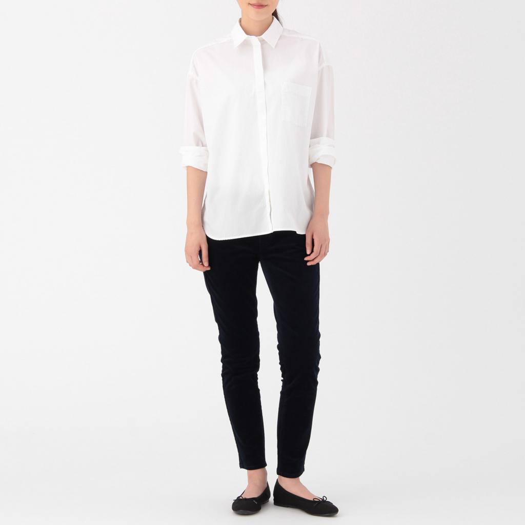 白い服 無印良品