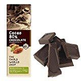 フェアトレードミニチョコレート カカオ80% 40g【地球食/第3世界ショップ】