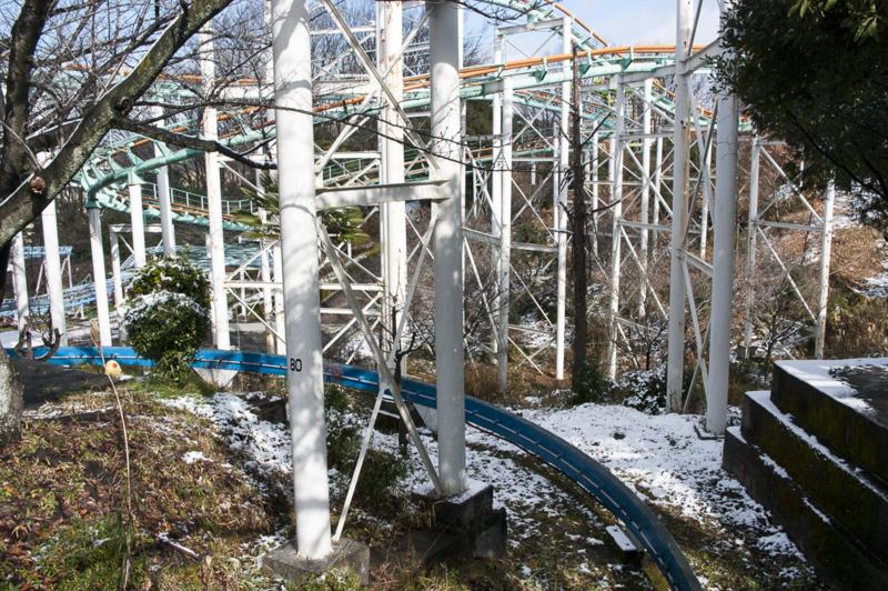 東山動植物園のジェットコースター
