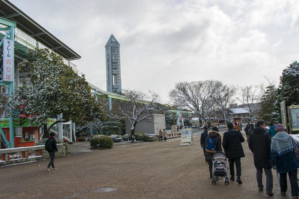 東山動植物園の展望台スカイタワー