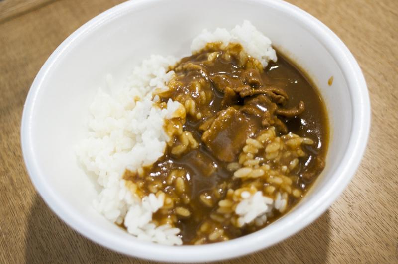 中京競馬場グルメドン太閤のカレー丼超得最もコスパのいい食べ物