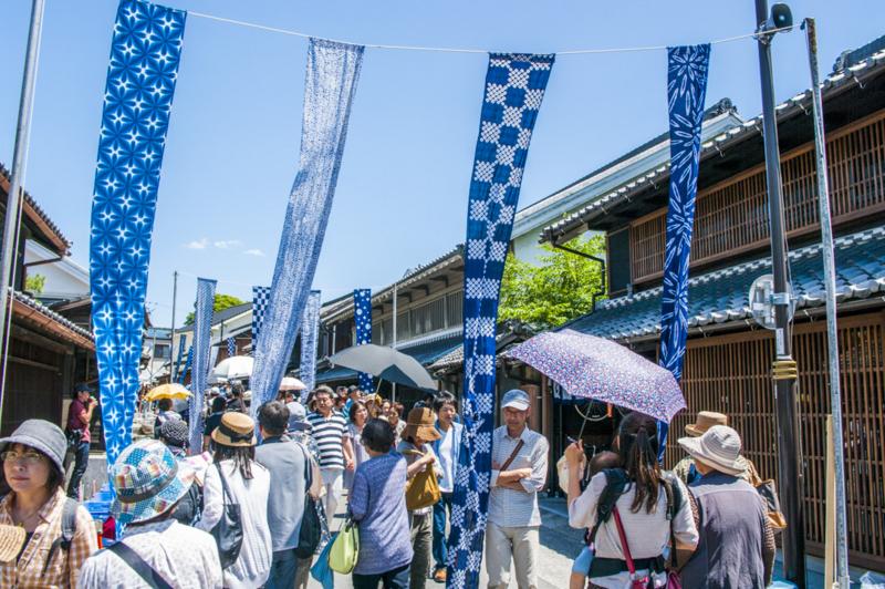 愛知県名古屋市緑区の染め物のまち有松絞りまつり