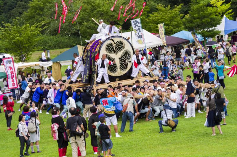 夏だ!!ぬかたのわんぱくまつり2017岡崎城下家康公夏まつり大太鼓