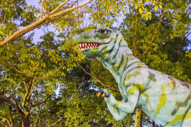 のんほいパークの恐竜