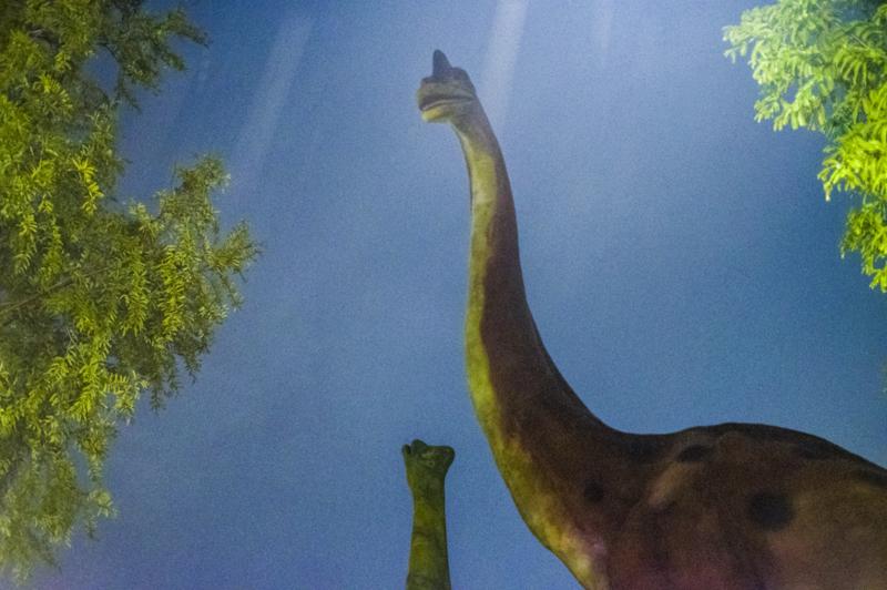 のんほいパークのシンボル的恐竜