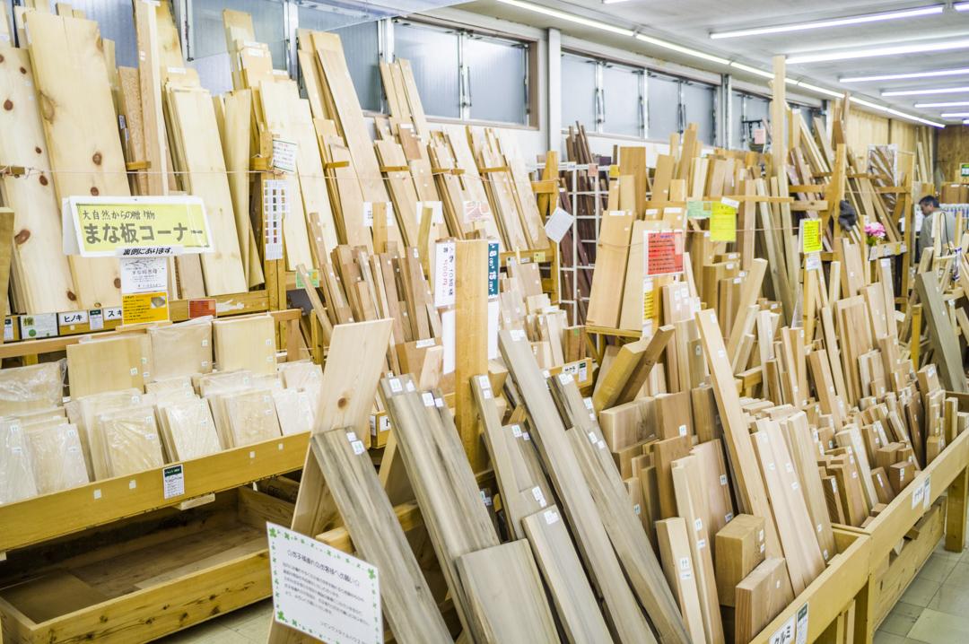 木材販売 品揃え 岡崎市