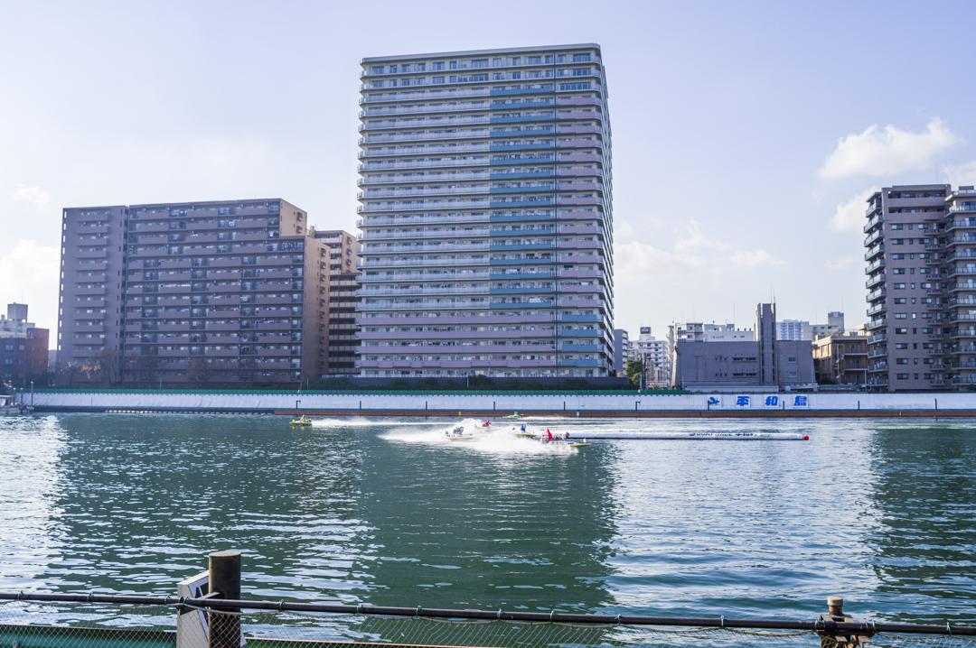 平和島競艇場 ボートレース平和島 レース風景
