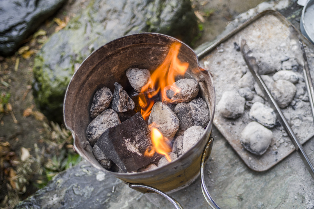 火起こしのコツ バーベキュー BBQ