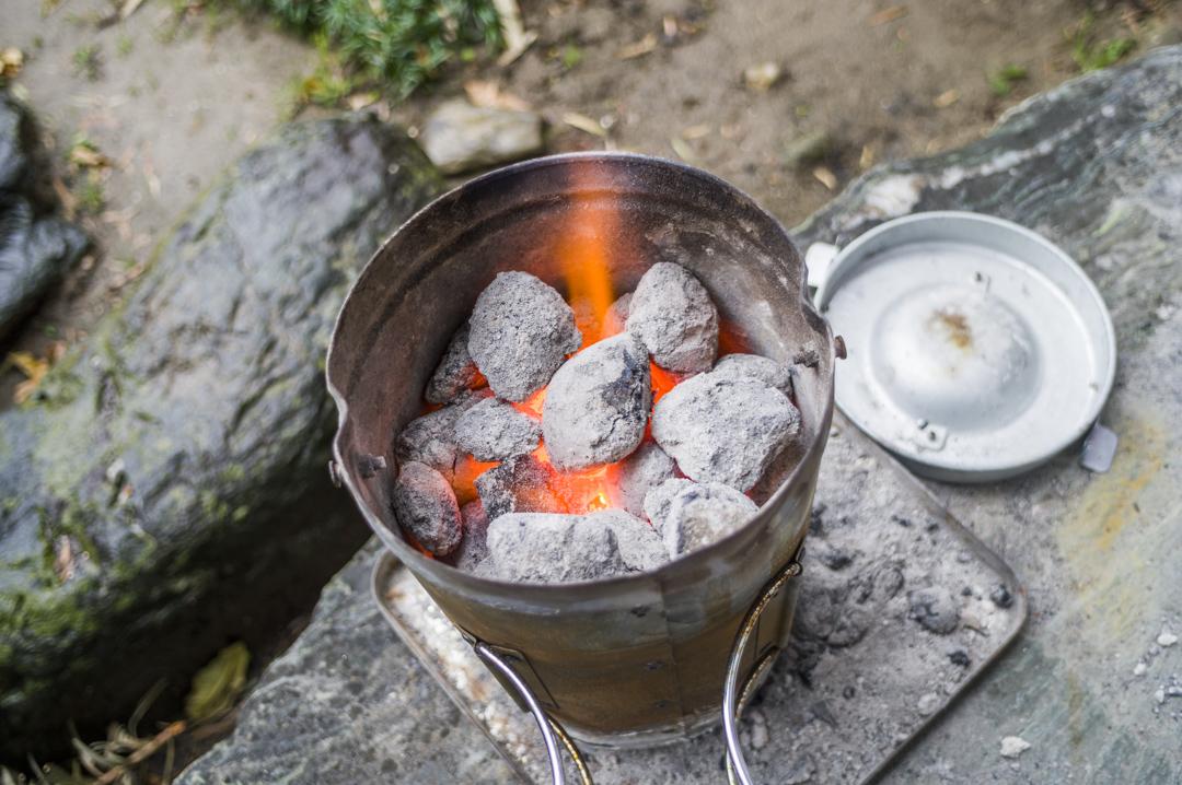 火おこし器 放置 バーベキュー