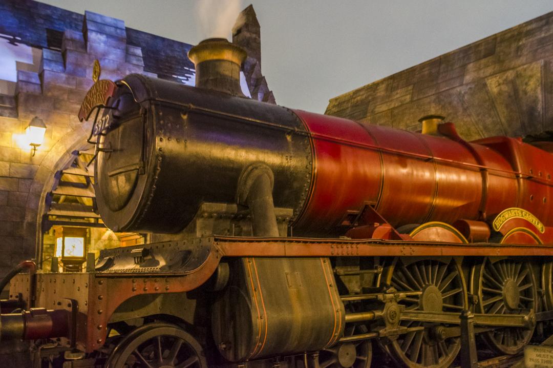 ハリーポッターに登場する汽車