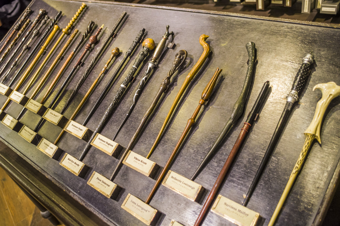 USJのハリーポッターエリアでは杖を購入可能