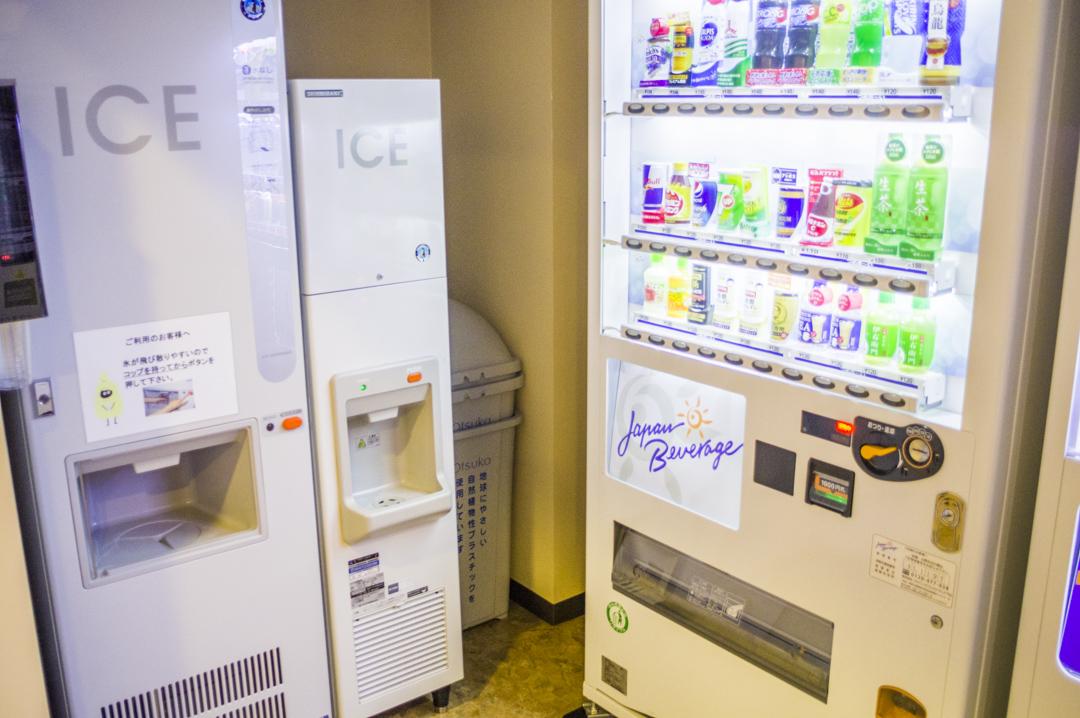 静岡の製氷機設備のあるビジネスホテル