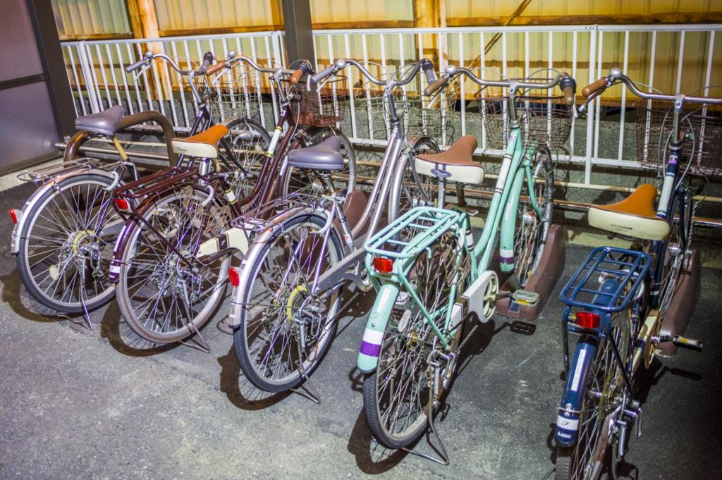 静岡県焼津市の無料レンタサイクルできるビジネスホテル