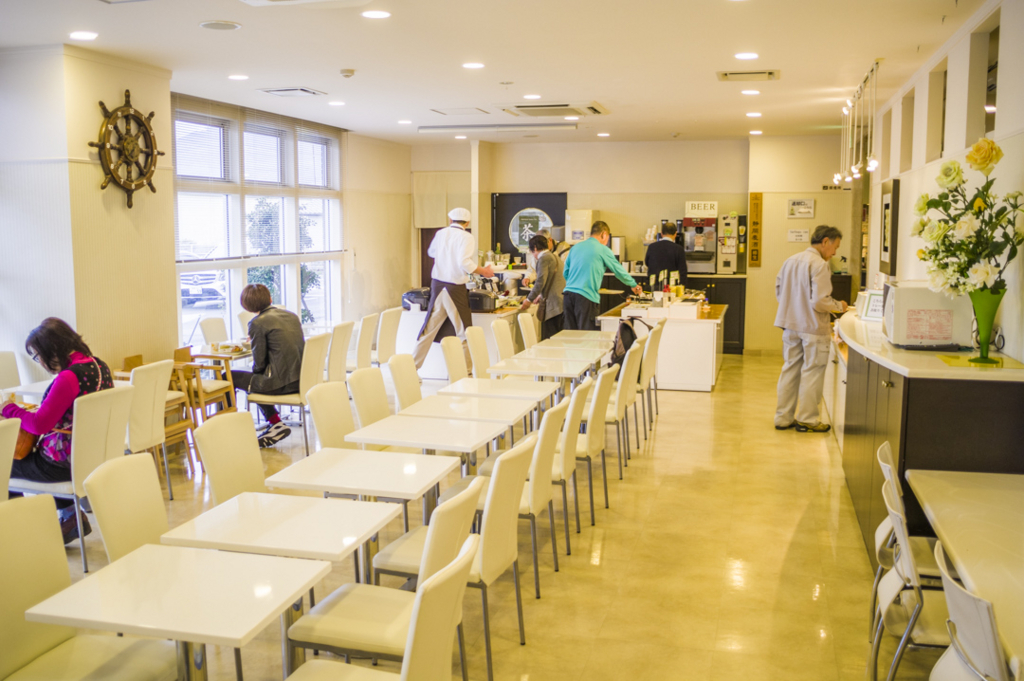 ホテルnanvan焼津の目玉朝食バイキング