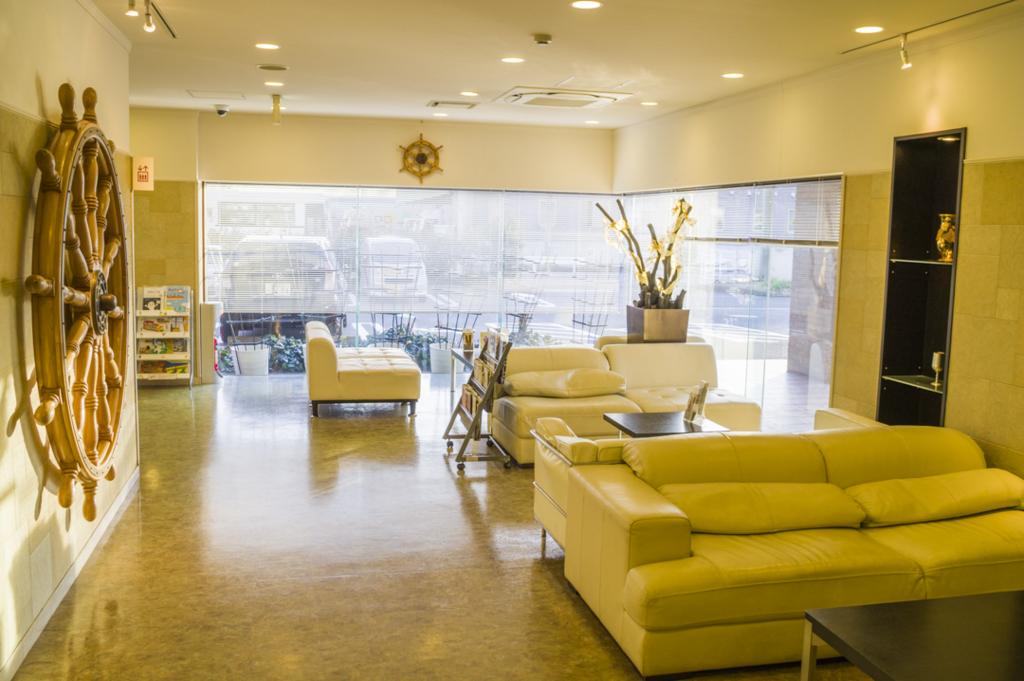 静岡県焼津市のオススメビジネスホテルnanvan焼津のロビー