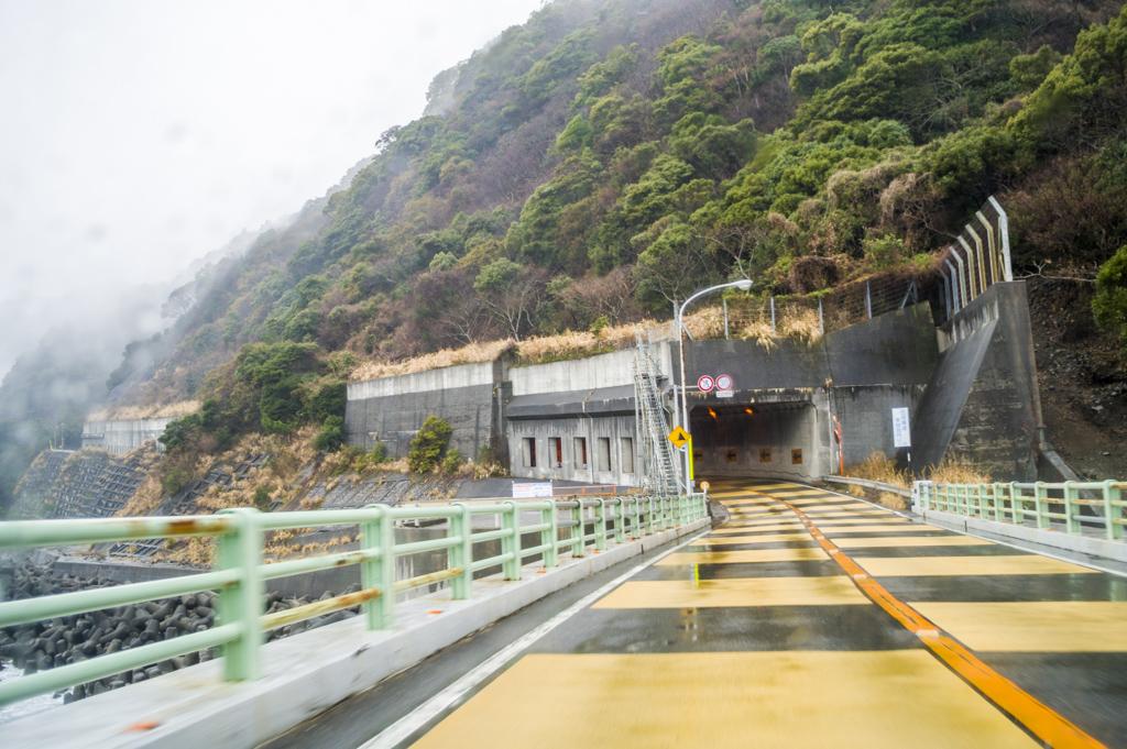 焼津の景勝地大崩海岸