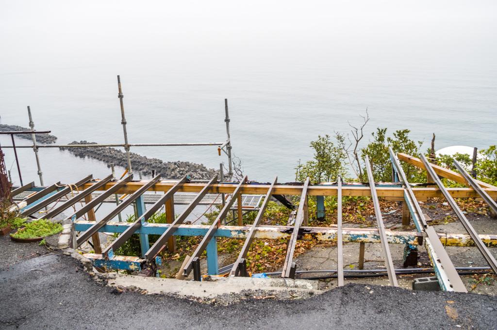 大崩海岸のビュースポット