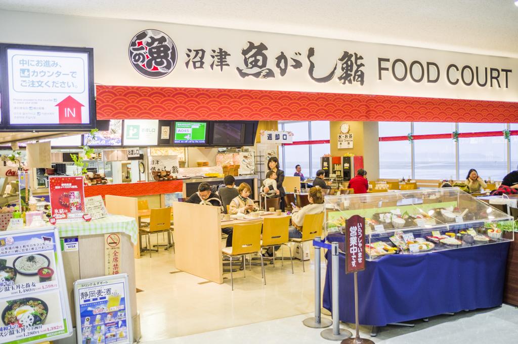 富士山静岡空港にあるフードコート沼津魚がし鮨