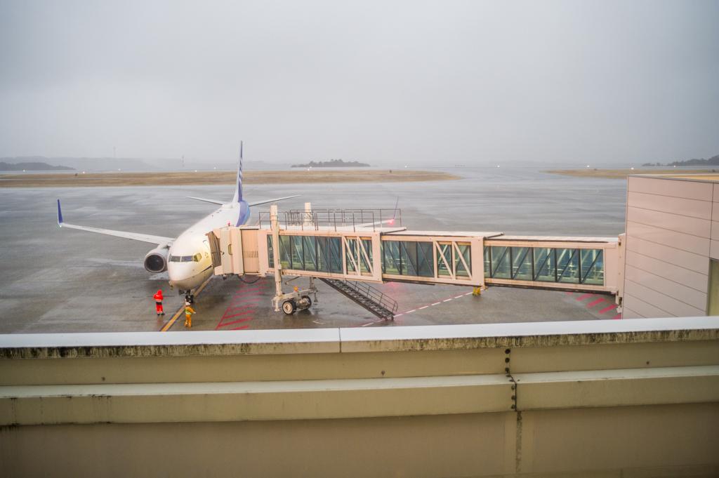 富士山静岡空港のタラップ