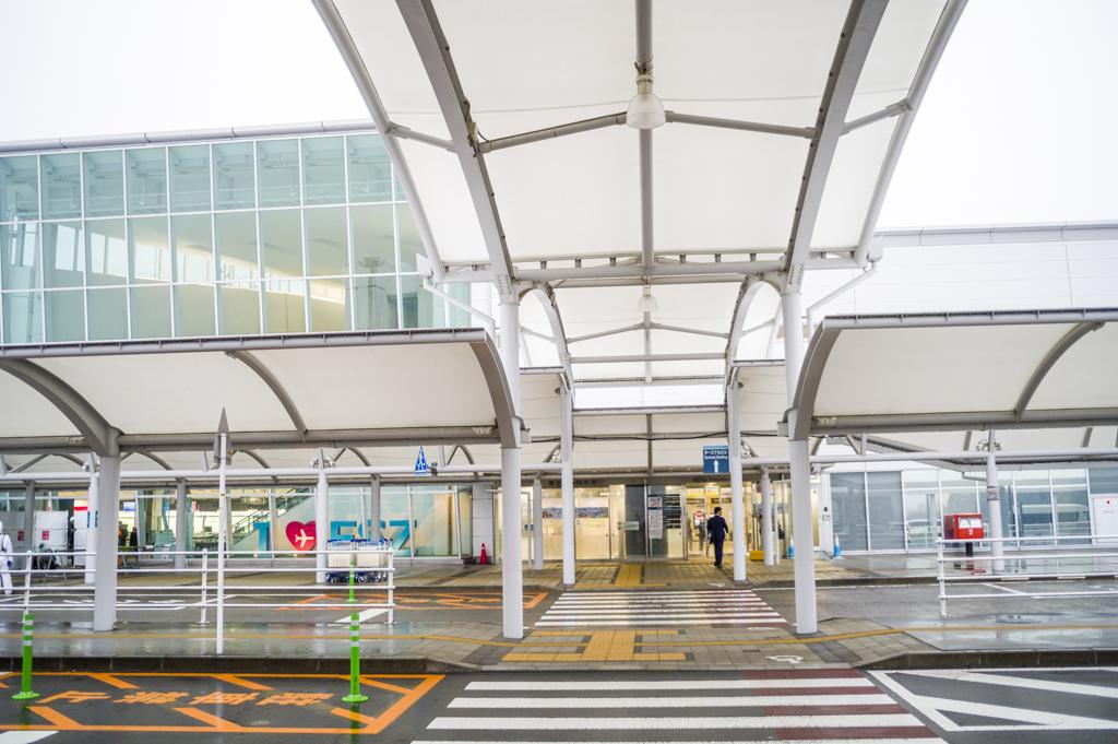富士山静岡空港のエントランス(入口)