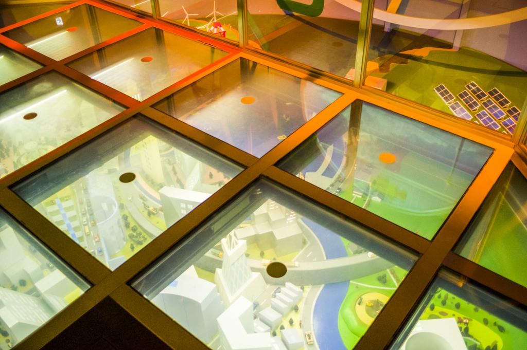 マジックミラー 新エネルギーホール 科学館